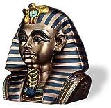 YTCサミット6091ゴージャスなエジプトのファラオツタンカーメン王のヘッドボックス
