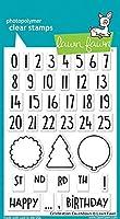 LAWN FAWN Clear Stamps 4X6 Celebration Countdown (LF1476) [並行輸入品]