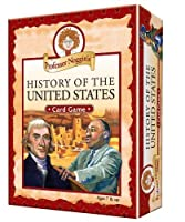 Professor Noggin's History of the United States - A Educational Trivia Based Card Game For Kids [並行輸入品]
