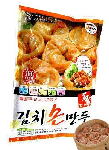名家 手作りキムチ餃子420g 自家製 キムチマンドゥ 韓国餃子