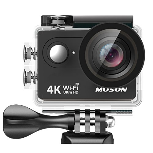 MUSON(ムソン)【メーカー直販/1年保証付】アクションカメラ 4K 30...