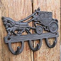 CXQ ヨーロッパとアメリカのスタイルの国のレトロ鋳鉄工芸フック壁フックキャリッジフック