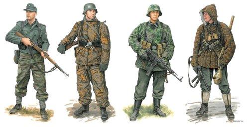 1/35 ドイツ軍 武装親衛隊 擲弾兵 1944-45