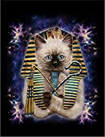 【FOX REPUBLIC】【エジプト パラオのシャムネコ 猫 ねこ】 黒光沢紙(フレーム無し)A2サイズ