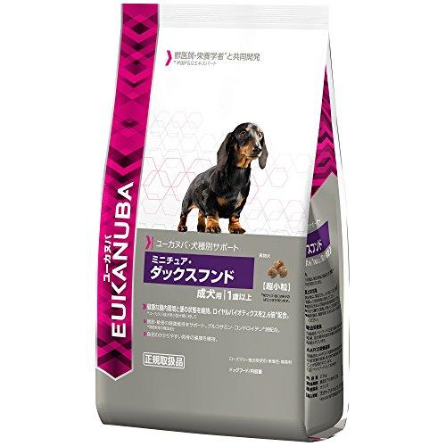 ユーカヌバ 成犬用・犬種別サポート ミニチュア・ダックスフンド 2.7kg