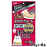 日本製 Japan いなば 猫用おやつ チャオ エナジーちゅーる かつお 14g×4本 SC-162