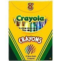 Crayolaクラシックカラークレヨン、8カラーボックス