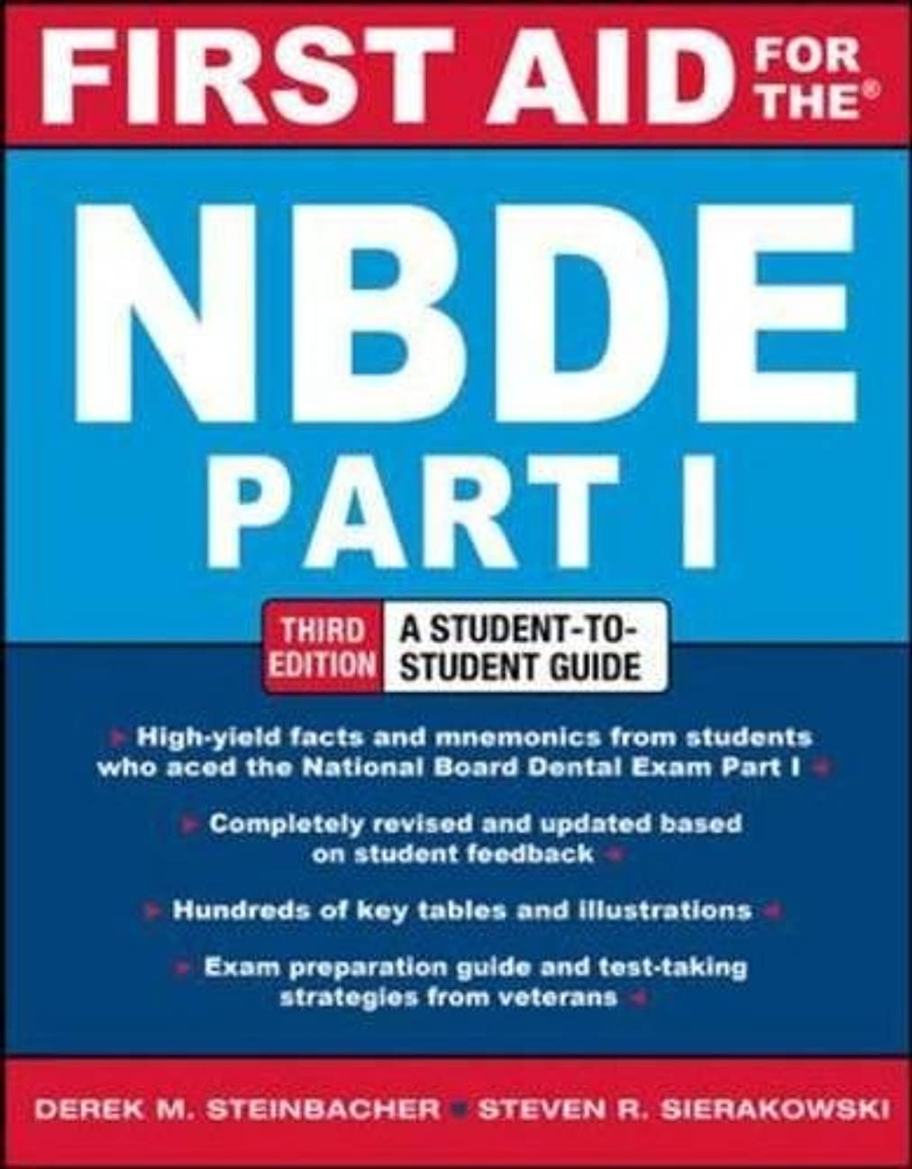 バルクメロドラマ手綱First Aid for the NBDE Part 1, Third Edition (First Aid Series)