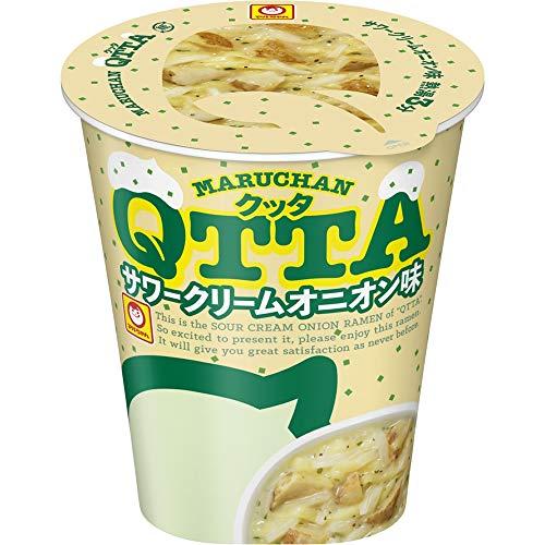 MARUCHAN QTTA(クッタ) サワークリームオニオン味の画像