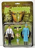 Monstarz Re-Animator Dr. Herbert West and Dr. Carl Hill 3.75インチスケール レトロアクションフィギュア 2パック