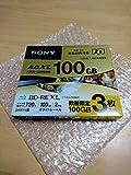 ソニー 2倍速対応BD-RE XL 3枚パック 100GB ホワイトプリンタブルSONY 3BNE3VTPS2