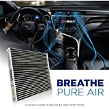 T1A 87139-02090 Cabin Air Filter Replacement Includes Activated Carbon | Fits Toyota/Lexus/Scion/Subaru | Breathe Pure Premium Air Filters by T1A