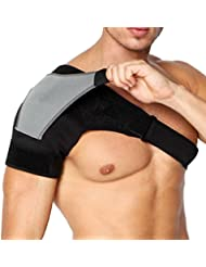 790b8b3339869 (アクアランド) AQUALAND 肩 サポーター 肩痛 補助ベルト付き ショルダー 二重設計
