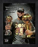 LeBron James Cleveland Cavaliers NBA ProQuotes Photo (Size: 9 x 11) Framed 【Creative Arts】 [並行輸入品]