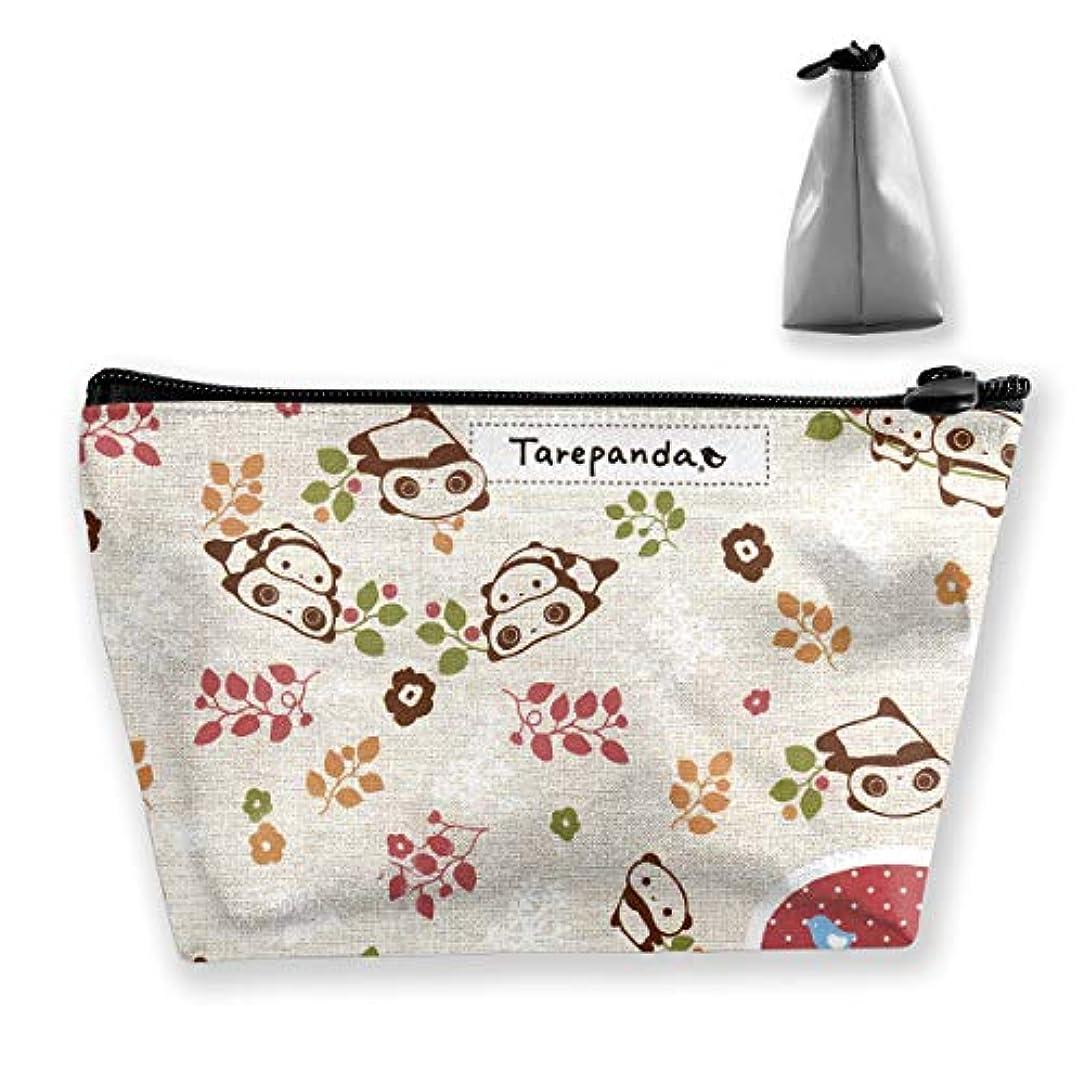 準拠イブニング静的タレパンダ 化粧ポーチ メイクポーチ コスメポーチ 化粧品収納 軽い 軽量 防水 出張 旅行も便利 小物入れ 携帯便利 多機能 バッグ 小さな化粧品の袋