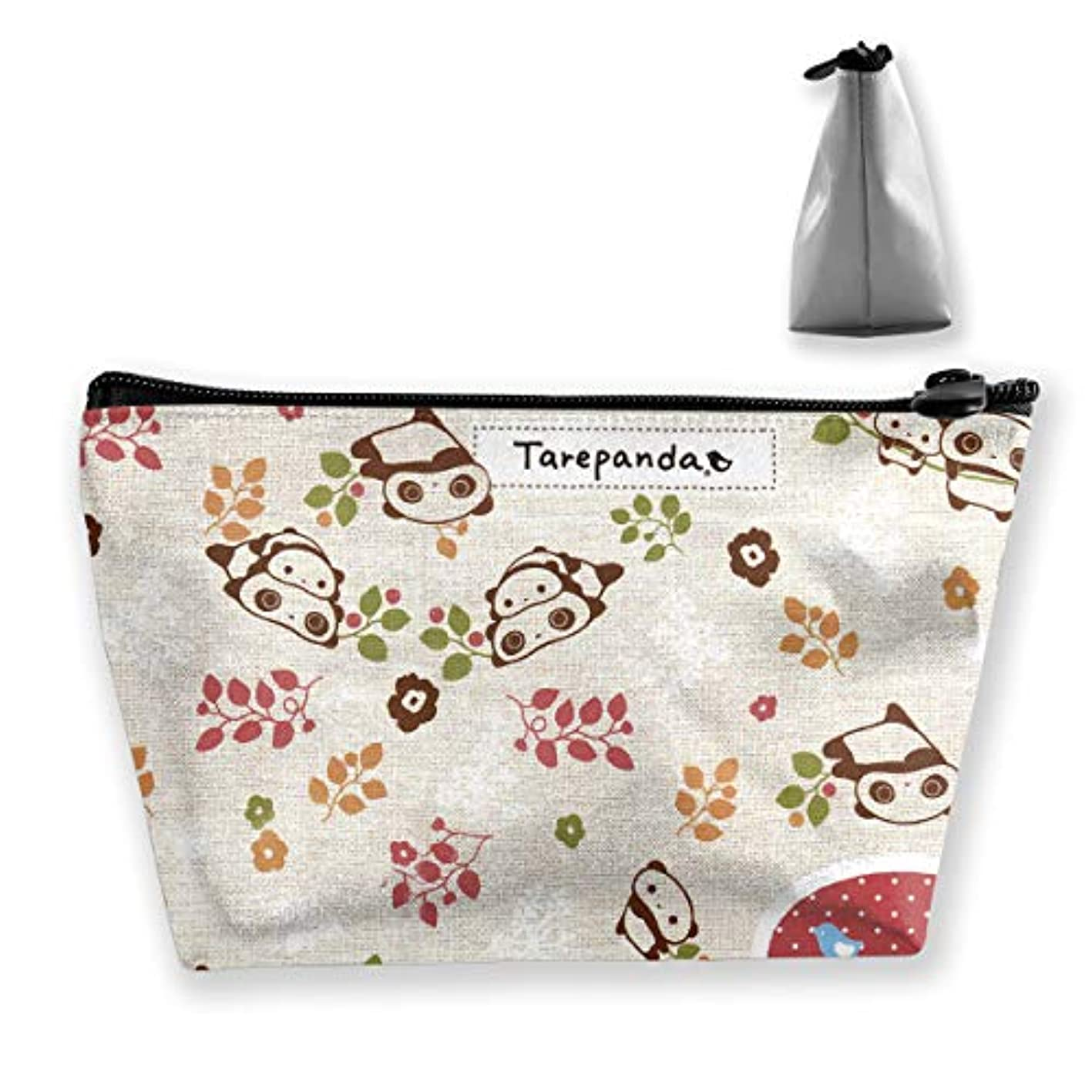 染色受動的骨折タレパンダ 化粧ポーチ メイクポーチ コスメポーチ 化粧品収納 軽い 軽量 防水 出張 旅行も便利 小物入れ 携帯便利 多機能 バッグ 小さな化粧品の袋