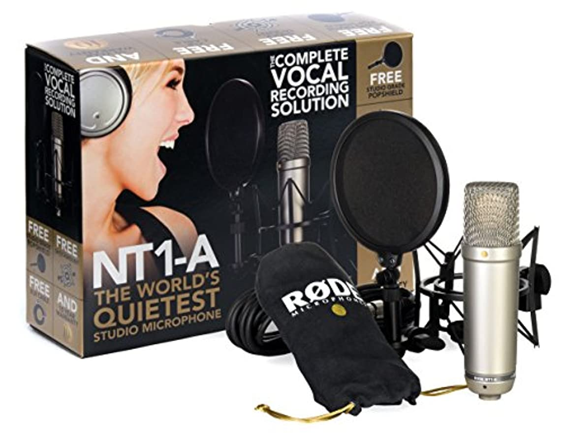 失敗平均韓国【マイク機材フルセット!!】Rode NT1A Anniversary Vocal Condenser Microphone Package ■並行輸入品■