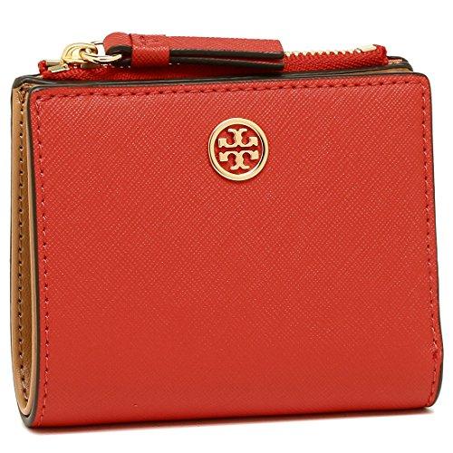 [トリーバーチ] 折財布 レディース TORY BURCH 47124 640 オレンジ ブラウン [並行輸入品]