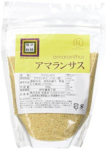 【3位】 旭食品 贅沢穀類 アマランサス 150g×2個