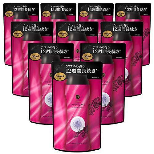 P&G レノア オードリュクス アロマジュエル ブルーミングパッションビジュの香り 詰め替え 455mL×10個