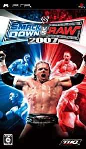 WWE 2007 SmackDown vs Raw - PSP