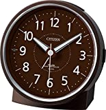 CITIZEN ( シチズン ) 電波 目覚まし 時計 エフライトR435 夜間 自動 点灯 ブラウン 4RL435-006