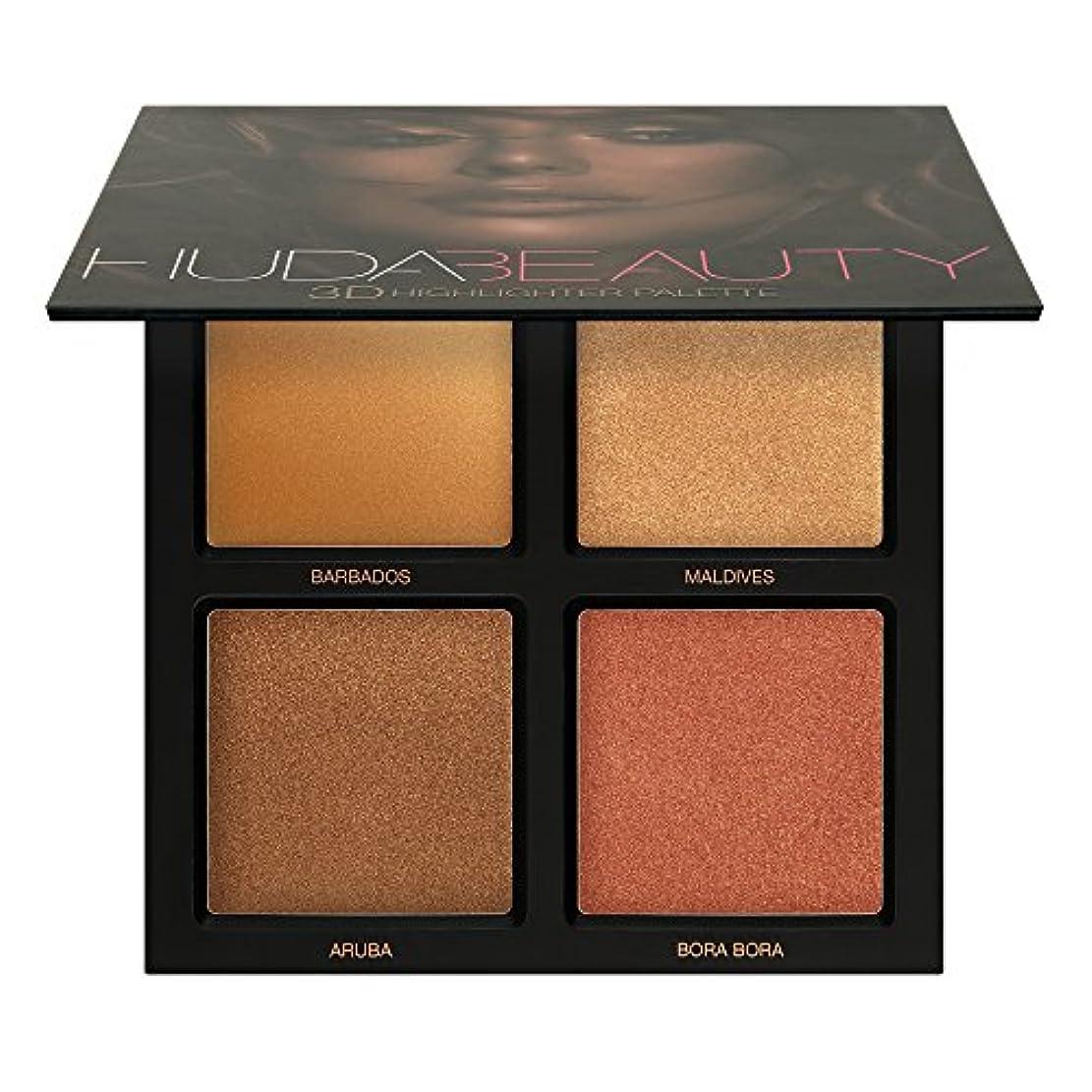 驚矢じり壮大なHuda Beauty Bronze Sands 3D Highlighter Palette