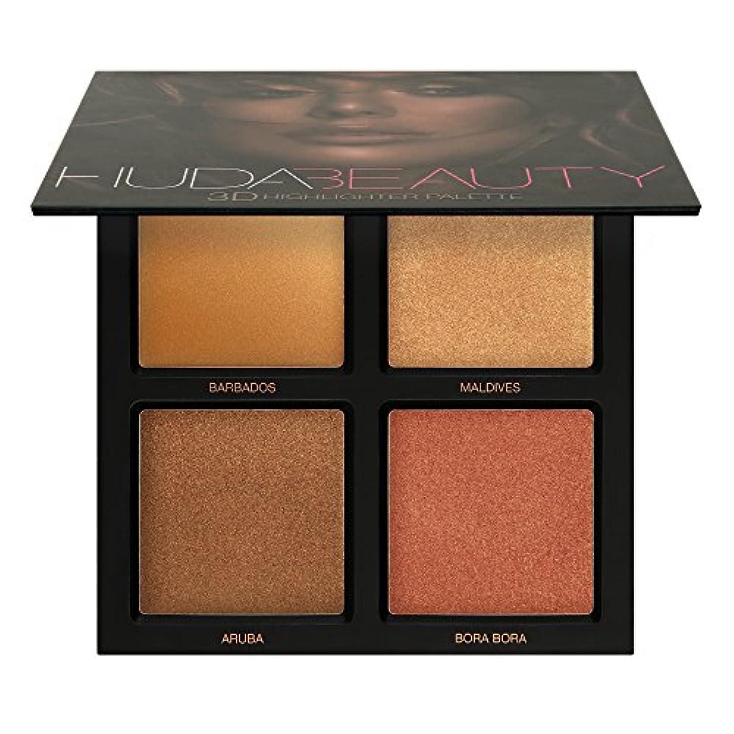 モノグラフ動かない懺悔Huda Beauty Bronze Sands 3D Highlighter Palette