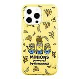 グルマンディーズ 『怪盗グルー/ミニオンズ』シリーズ IIIIfit Clear iPhone13 Pro(6.1インチ)対応ケース バナナ MINI-302A