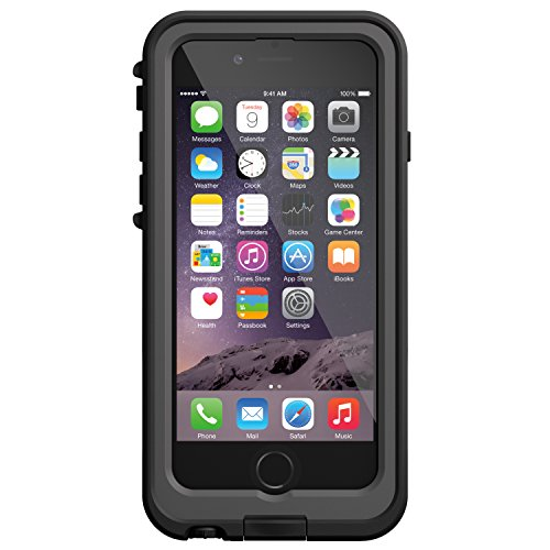 【iPhone本体保証付・Apple認証 Made for iPhone取得】LifeProof fre Power iPhone 6 Battery Case Black バッテリー内蔵防水ケース ブラック 77-50376