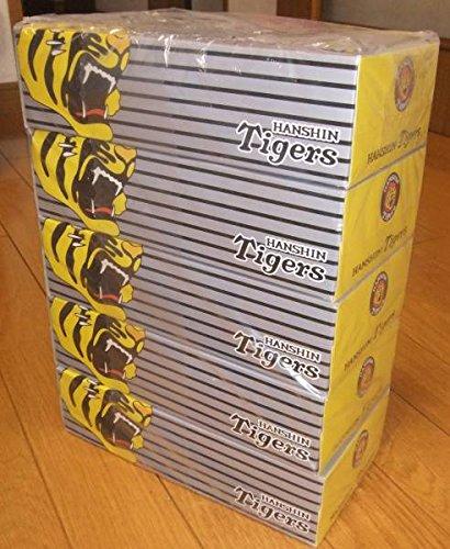 阪神タイガース BOXティッシュ 5個セット TIGERS