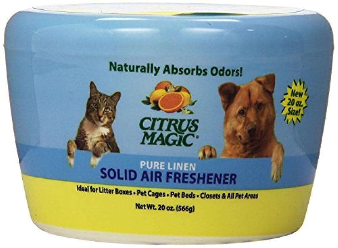 方言古くなった恩赦Citrus Magic - ペットPureの麻布を吸収する固体空気Freshenerの臭気 - 20ポンド