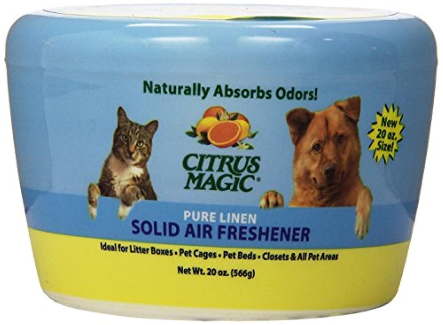 メーター太い発送Citrus Magic - ペットPureの麻布を吸収する固体空気Freshenerの臭気 - 20ポンド