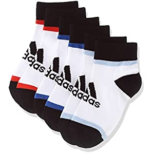 (アディダス)adidas トレーニングウェア 3P ショートソックス DMK62 [ジュニア] DMK62 BR6149 ホワイト/ホワイト/ホワイト 19-21cm