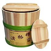 木製 漬物樽 9L プラたが