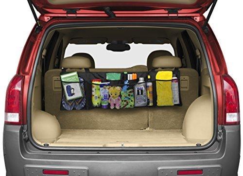プレミアムluminnaz車トランクシート背面ストレージオーガナイザー–Free Drawstring bag–Heavy Duty with 1680dポリエステル–For SUV、バン、トラック、子供CargoアクセサリーBackseat ( Toy、Doc、。)- - - - - - - Enhance旅行を