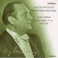 ロッシーニ:歌劇「絹の梯子」序曲、ベートーヴェン:「レオノーレ」序曲第3番、モーツァルト:交響曲第41番「ジュピター」 フランツ・コンヴィチュニー指揮ベルリン放送響