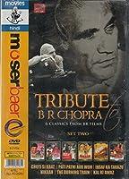 Tribute to B.R. Chopra 6 Classics From BR Films Set Two (6 Dvd Set Choti Si Baat/Pati Patni Aur Woh/Insaf Ka Tarazu/Nikaah/The Burning Train/Kal Ki Awaz) [並行輸入品]