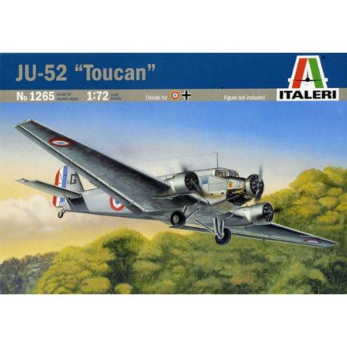 """イタレリ 1265S 1/72 ユンカース Ju52 """"トゥカン"""" (タミヤ・イタレリシリーズ:38065)"""