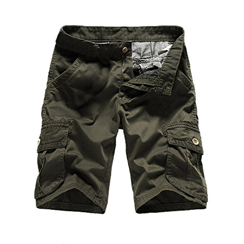 ショートパンツ メンズ Dafanet メンズ ハーフパンツ 大きいサイズ 半ズボン メンズ 短パン デニム カジュアル おしゃれ 綺麗 チェック アメカジ ゴルフ ビーチパンツ ボードショーツ ゴムウェスト