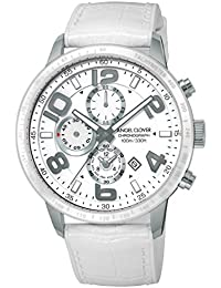 [エンジェルクローバー]Angel Clover 腕時計 LUCE ホワイト文字盤 クロノグラフ LU44SWH-WH メンズ