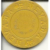 ネバダ州25セントラッキークラブラスベガスネバダ州Rare Obsoleteカジノチップ