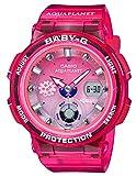 [カシオ] 腕時計 ベビージー ベビージーアクアプラネットコラボレーションモデル BGA-250AQ-4AJR レディース