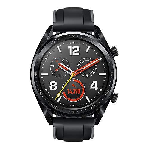 Huawei Watch GT/グラファイトブラック スマートウォッチ ※1.39インチカラータッチスクリーン 約46g 通常約14日間使用可【日本正規代理店品】 WATCH GT/BK/A