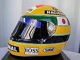 アイルトン セナ AYRTON SENNA 1992年 鈴鹿 F1日本GP仕様 レプリカヘルメット Mサイズ(57-58cm)