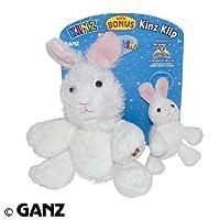 Webkinz Rabbit Kinz & Klip [並行輸入品]