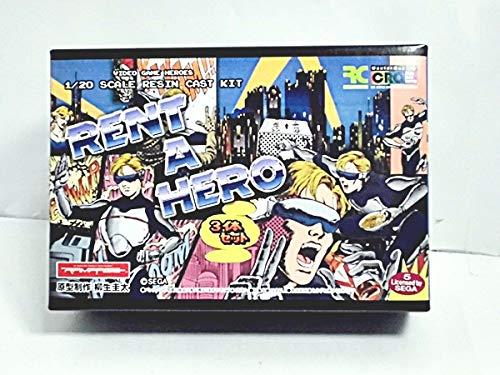 ビデオゲームヒーローズ 1/20SCALE レンタヒーロー 3体セット レジンキャスト製組立キット