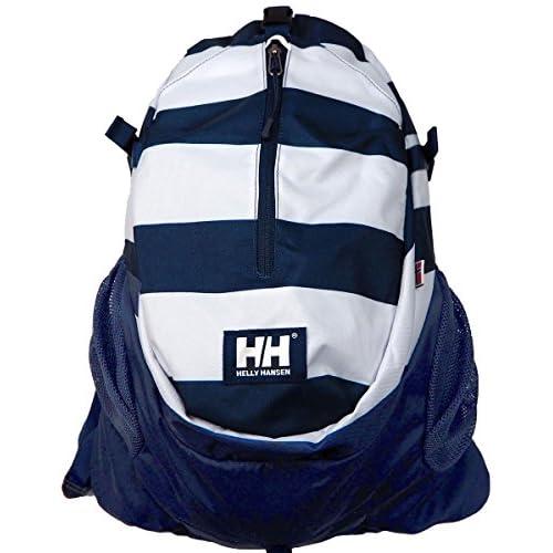 HELLY HANSEN ヘリーハンセン トレッキングバッグ SKARSTIND20 HOY91402 リュック バックパック バッグバック バッグパック デイバック (Fサイズ, N1 ボーダーネイビー)