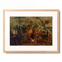 ピーテル・パウル・ルーベンス Peter Paul Rubens 「Landscape with Stone Carriers」 額装アート作品
