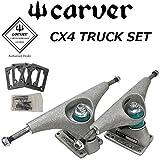 carver カーバースケートボード CX4 TRUCK SET SILVER シルバー トラック セット サーフスケート スケートトラック